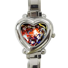 Smashed Butterfly 8 Heart Italian Charm Watch by bestdesignintheworld