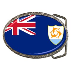 Flag Of Anguilla Belt Buckles by abbeyz71