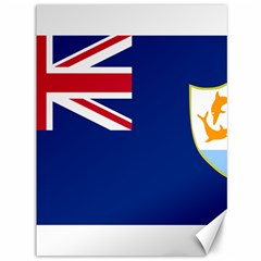 Flag Of Anguilla Canvas 36  X 48   by abbeyz71