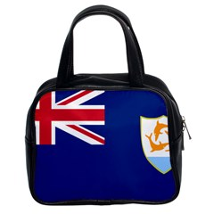 Flag Of Anguilla Classic Handbags (2 Sides) by abbeyz71