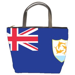 Flag Of Anguilla Bucket Bags by abbeyz71
