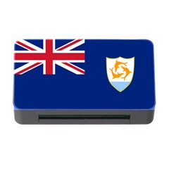 Flag Of Anguilla Memory Card Reader With Cf by abbeyz71