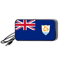 Flag Of Anguilla Portable Speaker by abbeyz71