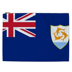 Flag Of Anguilla Cosmetic Bag (xxl)  by abbeyz71