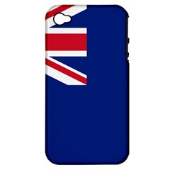Flag Of Anguilla Apple Iphone 4/4s Hardshell Case (pc+silicone) by abbeyz71