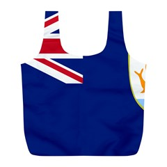 Flag Of Anguilla Full Print Recycle Bags (l)  by abbeyz71