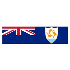 Flag Of Anguilla Satin Scarf (oblong) by abbeyz71