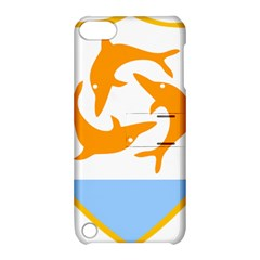 Coat Of Arms Of Anguilla Apple Ipod Touch 5 Hardshell Case With Stand by abbeyz71