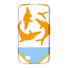 Coat Of Arms Of Anguilla Samsung Galaxy S4 Classic Hardshell Case (pc+silicone) by abbeyz71
