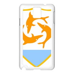Coat Of Arms Of Anguilla Samsung Galaxy Note 3 N9005 Case (white) by abbeyz71