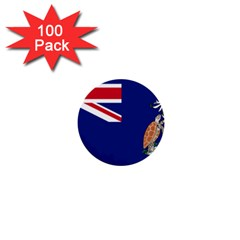 Flag Of Ascension Island 1  Mini Buttons (100 Pack)  by abbeyz71
