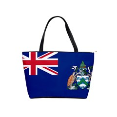 Flag Of Ascension Island Shoulder Handbags by abbeyz71