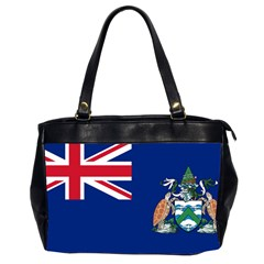 Flag Of Ascension Island Office Handbags (2 Sides)  by abbeyz71