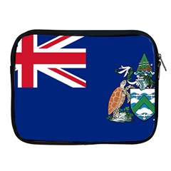 Flag Of Ascension Island Apple Ipad 2/3/4 Zipper Cases by abbeyz71