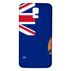 Flag Of Ascension Island Samsung Galaxy S5 Back Case (white) by abbeyz71