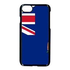 Flag Of Ascension Island Apple Iphone 7 Seamless Case (black) by abbeyz71