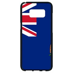 Flag Of Ascension Island Samsung Galaxy S8 Black Seamless Case