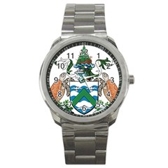 Flag Of Ascension Island Sport Metal Watch