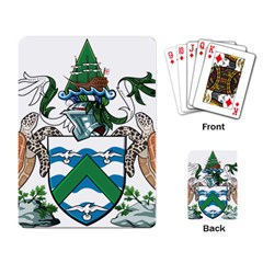 Flag Of Ascension Island Playing Card