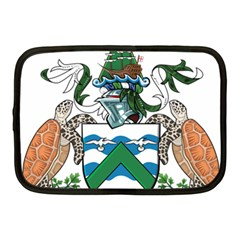 Flag Of Ascension Island Netbook Case (medium)