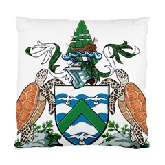 Flag Of Ascension Island Standard Cushion Case (one Side)