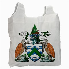 Flag Of Ascension Island Recycle Bag (two Side)
