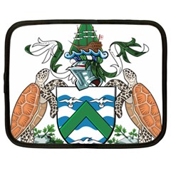 Flag Of Ascension Island Netbook Case (xxl)