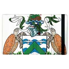 Flag Of Ascension Island Apple Ipad 2 Flip Case by abbeyz71