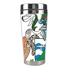 Flag Of Ascension Island Stainless Steel Travel Tumblers
