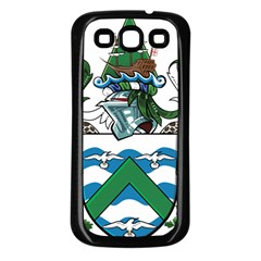 Flag Of Ascension Island Samsung Galaxy S3 Back Case (black)