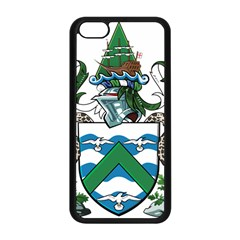 Flag Of Ascension Island Apple Iphone 5c Seamless Case (black)