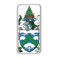 Flag Of Ascension Island Apple Iphone 5c Seamless Case (white)