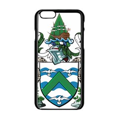 Flag Of Ascension Island Apple Iphone 6/6s Black Enamel Case