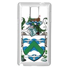 Flag Of Ascension Island Samsung Galaxy Note 4 Case (white)