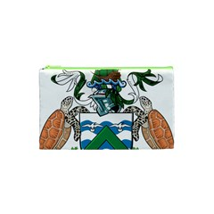 Flag Of Ascension Island Cosmetic Bag (xs)