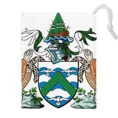 Flag Of Ascension Island Drawstring Pouches (xxl)