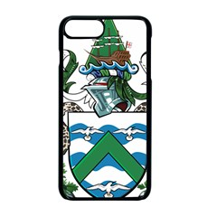 Flag Of Ascension Island Apple Iphone 7 Plus Seamless Case (black)