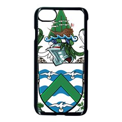Flag Of Ascension Island Apple Iphone 7 Seamless Case (black)