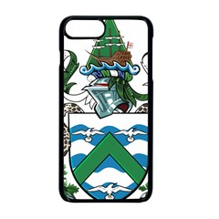 Flag Of Ascension Island Apple Iphone 8 Plus Seamless Case (black)