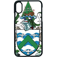 Flag Of Ascension Island Apple Iphone X Seamless Case (black)