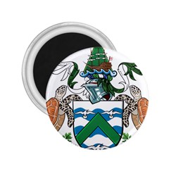 Coat Of Arms Of Ascension Island 2 25  Magnets