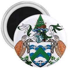 Coat Of Arms Of Ascension Island 3  Magnets