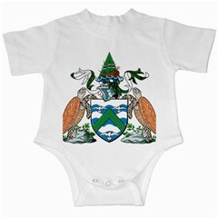 Coat Of Arms Of Ascension Island Infant Creepers