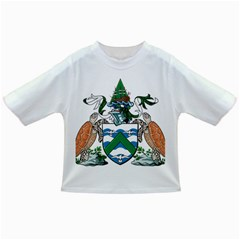 Coat Of Arms Of Ascension Island Infant/toddler T Shirts