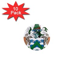 Coat Of Arms Of Ascension Island 1  Mini Magnet (10 Pack)  by abbeyz71
