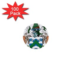 Coat Of Arms Of Ascension Island 1  Mini Buttons (100 Pack)