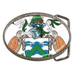 Coat Of Arms Of Ascension Island Belt Buckles