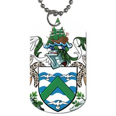 Coat Of Arms Of Ascension Island Dog Tag (two Sides)