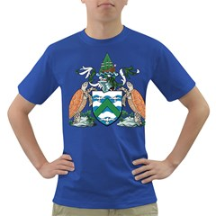 Coat Of Arms Of Ascension Island Dark T Shirt