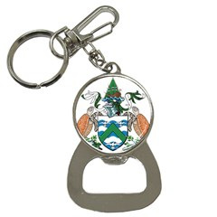 Coat Of Arms Of Ascension Island Bottle Opener Key Chains